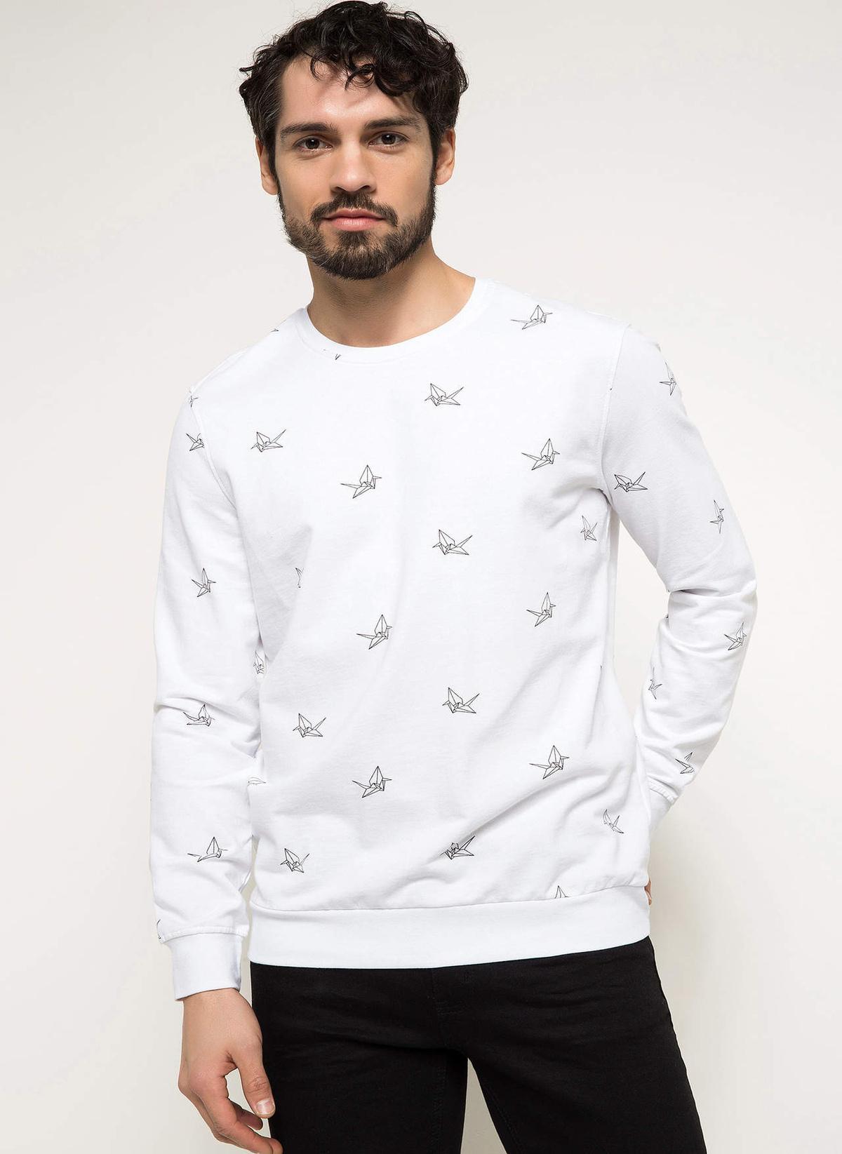 Defacto Sweatshirt I3555az18spwt32 Sweatshirt – 39.99 TL